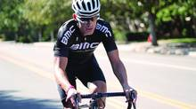 Recon Instruments started with ski and snowboard goggles that had an LCD screen inside the eye wear to lay out data such as temperature, speed and GPS co-ordinates. The company has since released similarly equipped glasses for triathletes and cyclists, as worn by U.S. cycling star George Hincapie. (Recon Instruments)