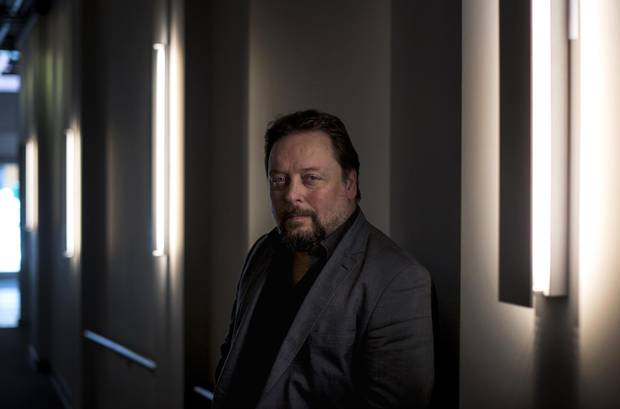 Jeremy Webb, photographed in Halifax on Oct. 26, will serve as the new artistic director of the Neptune Theatre. Before that, he will see Lullaby: Inside the Halifax Explosion, a play he commissioned to commemorate the centennial of the maritime disaster, finish its run in the Nova Scotia capital.