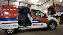 Same-day delivery is a way for money-losing Canada Post to build its parcel business. (Moe Doiron/The Globe and Mail)