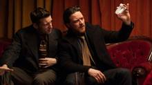 Jamie Bell and James McAvoy in Filth. (Neil Davidson/Magnolia Pictures)