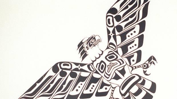 Eagle Design by artist Ellen Neel.