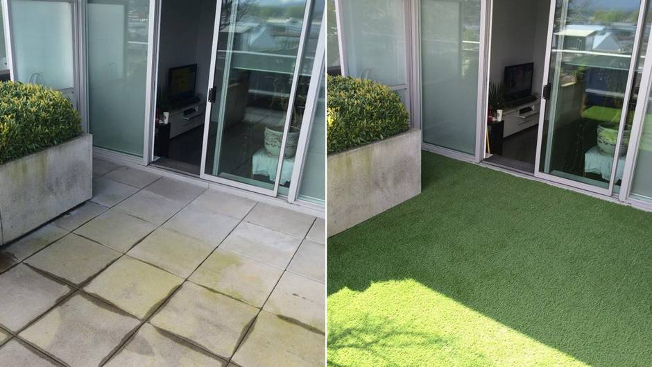 This grass is always greener: Artificial lawns are sprouting