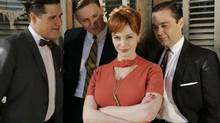Christina Hendricks as head secretary Joan Holloway on Mad Men. Numerous studies have found that the more attractive a person is, the more money he or she makes.