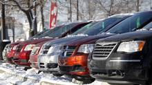 Chrysler differs from other major auto makers in Canada in that it does not own a separate financing company that allows it to offer leases and loans, so it must work through third parties. (Jeff McIntosh For The Globe and Mail)