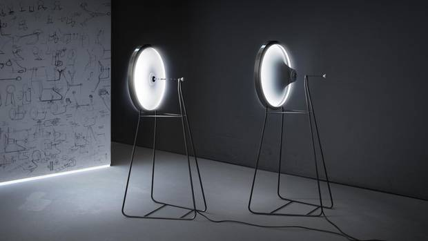 Black Hole Lamp by Dario Narvaez and Anthony Baxter, CurveID, New York