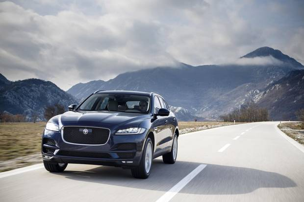 The Jaguar F-Pace is clean and polished with a sporty side.
