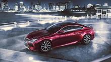 The production version of the Lexus RC coupe concept will make its world debut at the Toyko Motor Show on November 20. (Toyota)
