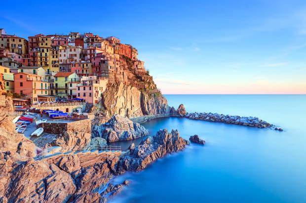 Manarola village in Italy's Cinque Terre National Park is probably one of the most Photoshopped places on Earth.