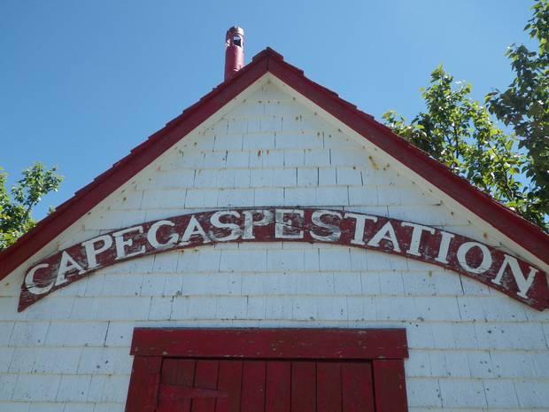 An old building at Cap Gaspé.