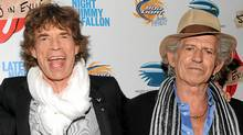 "In this May 11, 2010 file photo, musicians Mick Jagger, left, Keith Richards of The Rolling Stones attends a special screening of their new documentary ""Stones In Exile"" at The Museum of Modern Art in New York. Richards says the Rolling Stones almost imploded because Mick Jagger thought he was ""bigger than the Stones."" The pair's stormy relationship is described in Richards' memoir ""Life,"" published next week. (Evan Agostini/AP/Evan Agostini/AP)"