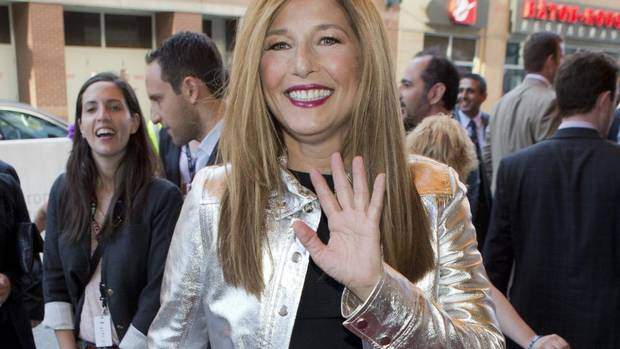 Actress Catherine Keener arrives on the red carpet for A Late Quartet. (MARK BLINCH/REUTERS)