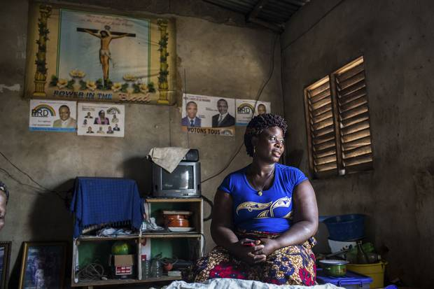 Claudine Degbo: 'If I was to tell you about my suffering, it would take the whole day.'