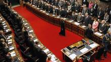 B.C.'s Legislative Assembly on Feb. 11, 2014 in Victoria. (Chad Hipolito/The Canadian Press)