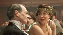 Steve Buscemi and Paz de la Huerta in Boardwalk Empire. (Abbot Gen)