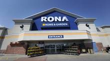 A Rona store in Toronto. (Fred Lum/The Globe and Mail)