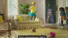 GoldieBlox ad. (YouTube)