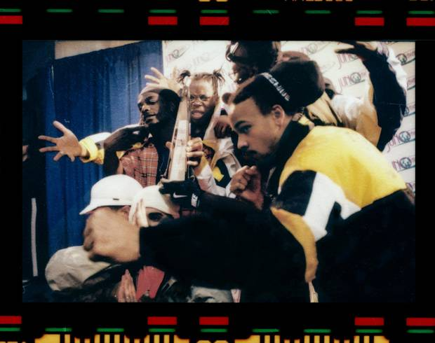 Juno Rise of Hip Hop, 1998, 35 mm colour negative, reproduced from original darkroom print.