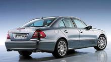 2008 Mercedes-Benz E320 BlueTec. (Mercedes-Benz)