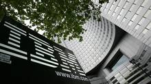 A view of IBM'S headquarters in Paris. (PHILIPPE WOJAZER/REUTERS)