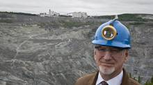 Bernard Coulombe, CEO of Jeffrey Asbestos Mine (Francis Vachon For The Globe and Mail)