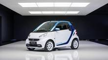 Smart fortwo electric drive (Mercedes-Benz)