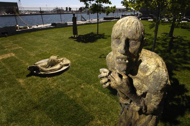 Ireland Park, a small strip of land at the foot of Bathurst Street, was opened in 2007 to honour the famine victims of the 1840s, but it was a start, not an end.