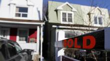File photo of a house that sold recently in Toronto. (Fernando Morales/The Globe and Mail)