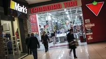 Canadian Tire's shareholder-friendly moves include selling a portion of its financial services division and folding its property into a real estate investment trust. (Mark Blinch/Reuters)
