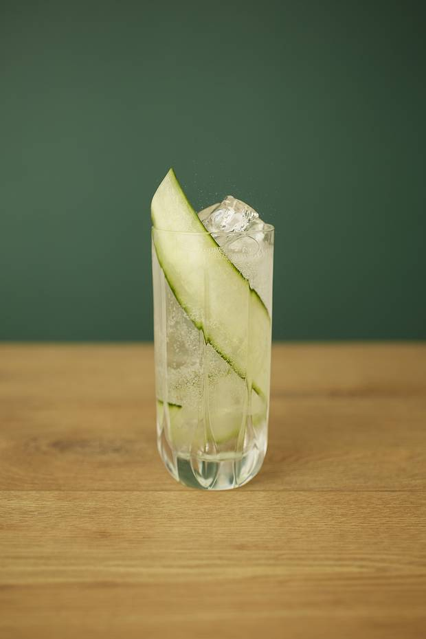 Garden Tonic cocktail.