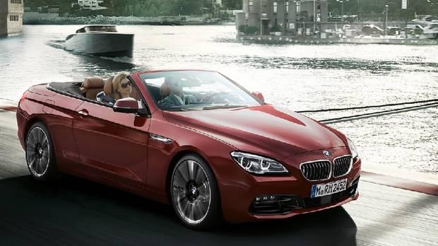 2017 BMW 6 Series.