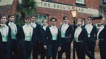 A scene from The Riot Club (Screen shot from movie trailer)