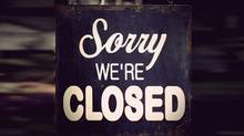 closed shop sign (PinkBadger)