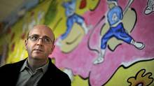Mark Richardson is photographed inside the Fairmount Community Centre in Toronto's east end on Dec 09 2011. (Fred Lum/Fred Lum/The Globe and Mail)