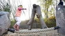 Natural playgrounds are a growing movement. (Bienenstock Natural Playgrounds)