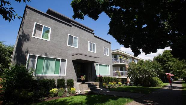 This 29-unit apartment building in Vancouver made headlines earlier this month following media reports that it has 17 Airbnb listings.