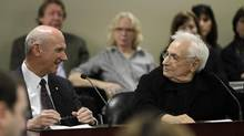 Architect Frank Gehry said only two buildings in Toronto, Old City Hall and Osgoode Hall, are worth preserving. (Fernando Morales/The Globe and Mail)