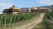 Burrowing Owl Winery in Oliver, B.C. (Gary Mason/The Globe and Mail)