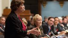 Education Minister Marie Malavoy explained that schools don't have enough resources and qualified teachers to meet the deadline set by the former Liberal government when it introduced the language program two years ago. (Jacques Boissinot/THE CANADIAN PRESS)