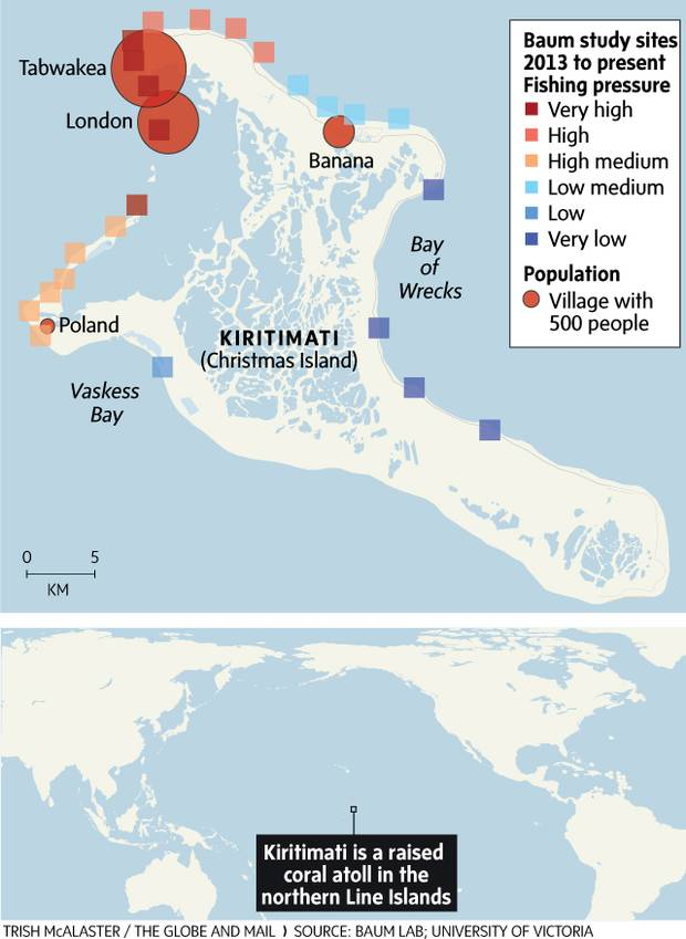 Where Is Christmas Island.Kiritimati S Coral Reef Die Off Offers Clues For