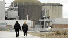 Exteriors of the Pickering Nuclear Generating Station in Pickering, Ont. (Fred Lum/Fred Lum/The Globe and Mail)