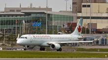 An analyst warned investors to avoid Chorus Aviation stock as a result of a payment dispute between the Jazz Air parent and Air Canada. (Andrew Vaughan/THE CANADIAN PRESS/Andrew Vaughan/THE CANADIAN PRESS)