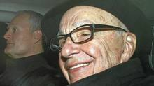 News Corp Chief Executive and Chairman Rupert Murdoch arrives in central London on February 16, 2012. (Reuters)