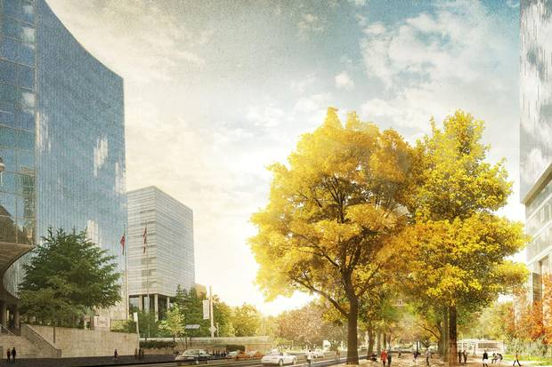 The Great Streets project in Toronto envisions a new downtown core that prioritizes public space.