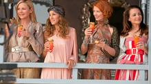 The girls and elaborate frocks return in Sex and the City 2.