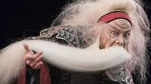 Taiwanese theatre legend Wu Hsing-Kuo presents a solo performance of King Lear that fuses traditions from East and West. (Dirk Bleicker)