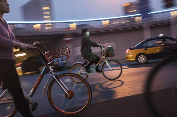 The popularity of bike shares has exploded in the past year with more than at least 20 providers now battling for market share in major cities across China.