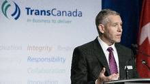TransCanada chief executive officer Russ Girling said in a statement Sept. 13 that the company would ensure sufficient capacity to meet the needs of its gas customers. (Chris Bolin for The Globe and Mail)