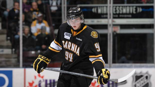 OHL: Habs' Prospect Galchenyuk Scores Three Points As Sting Beat Battalion