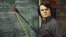 "Jack Black in ""School of Rock,"" a great classroom movie (Andrew Schwartz)"