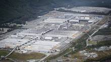 The Rio Tinto Alcan smelter in Kitimat, B.C. (John Lehmann/The Globe and Mail/John Lehmann/The Globe and Mail)